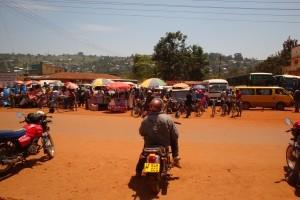 Busstandy in Bukoba