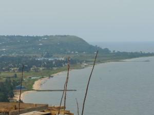 Der Strand von Bukoba am Viktoriasee