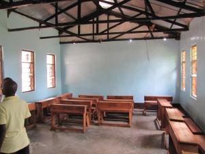 Der renovierte Klassenraum