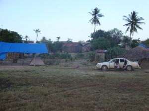 Unser Camp in Saadani