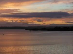 Sonnenuntergang in Tanga