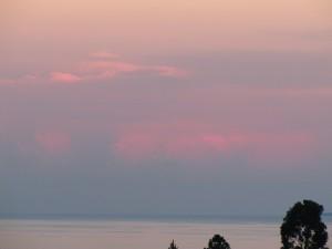Sonnenuntergang Bukoba