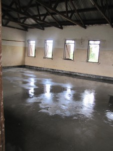 Schulrenovierung Kassambya