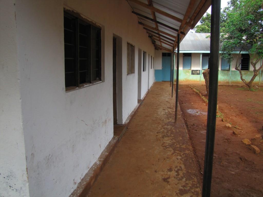 Bauarbeiten Karwoshe Primary School