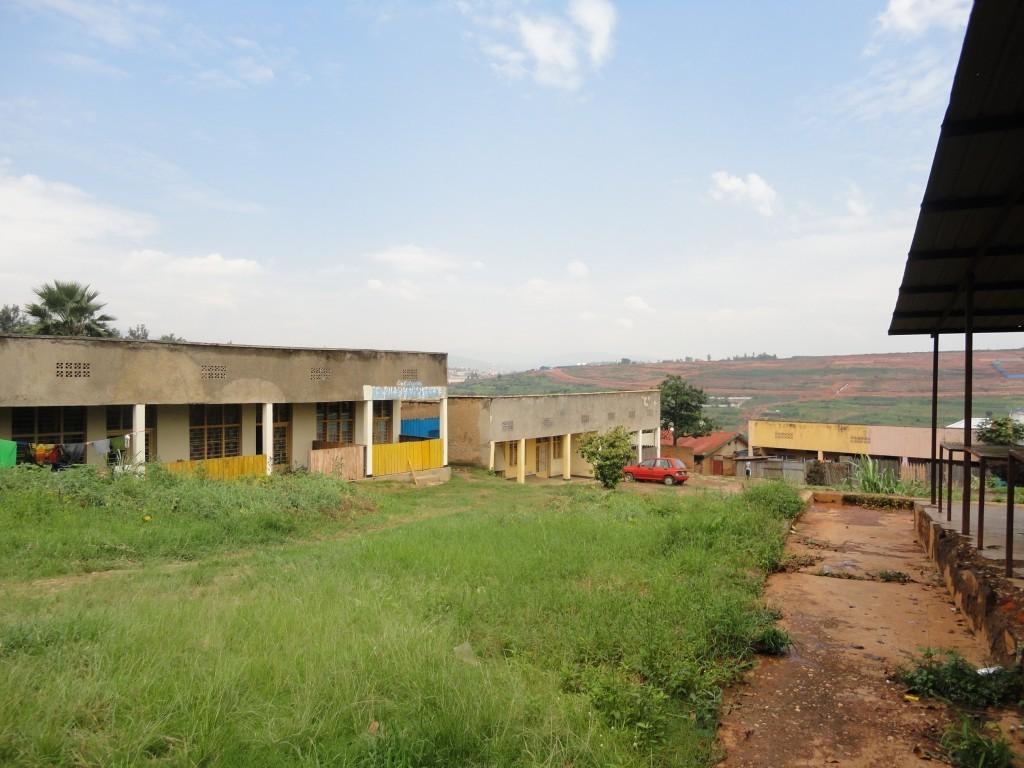 Ehemaliger Marktplatz in Kigali
