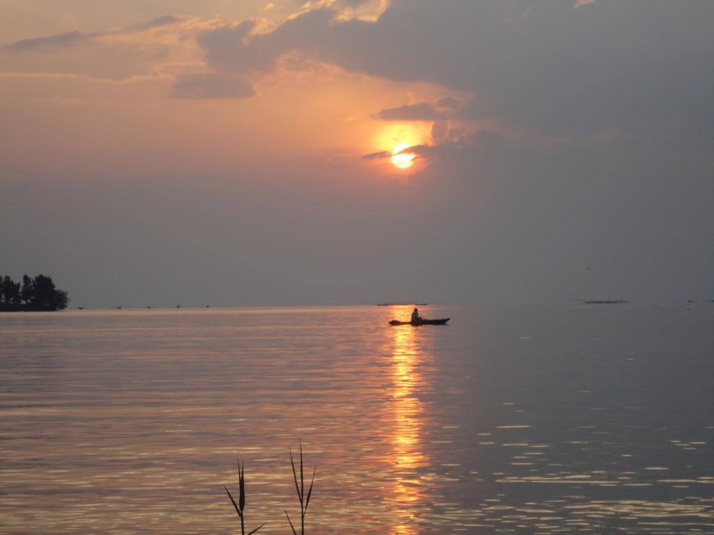 Sonnenuntergang Gisenyi
