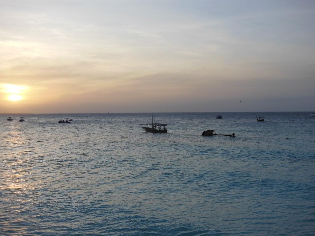 Sonnenuntergang Nungwi