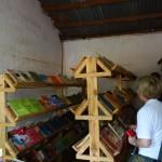 Bibliothek der Buhuhororo Primary School