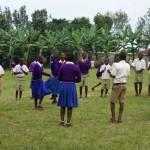 Schüler der Buhororo Primary School