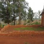 Grundmauern der Karalo Primary School