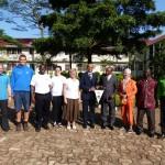 Besuch beim Council in Bukoba mit Fabian Massawe (RC), Mr. Kissimba und Kepha