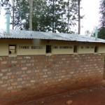 Neue Toiletten der Rulenge Primary School
