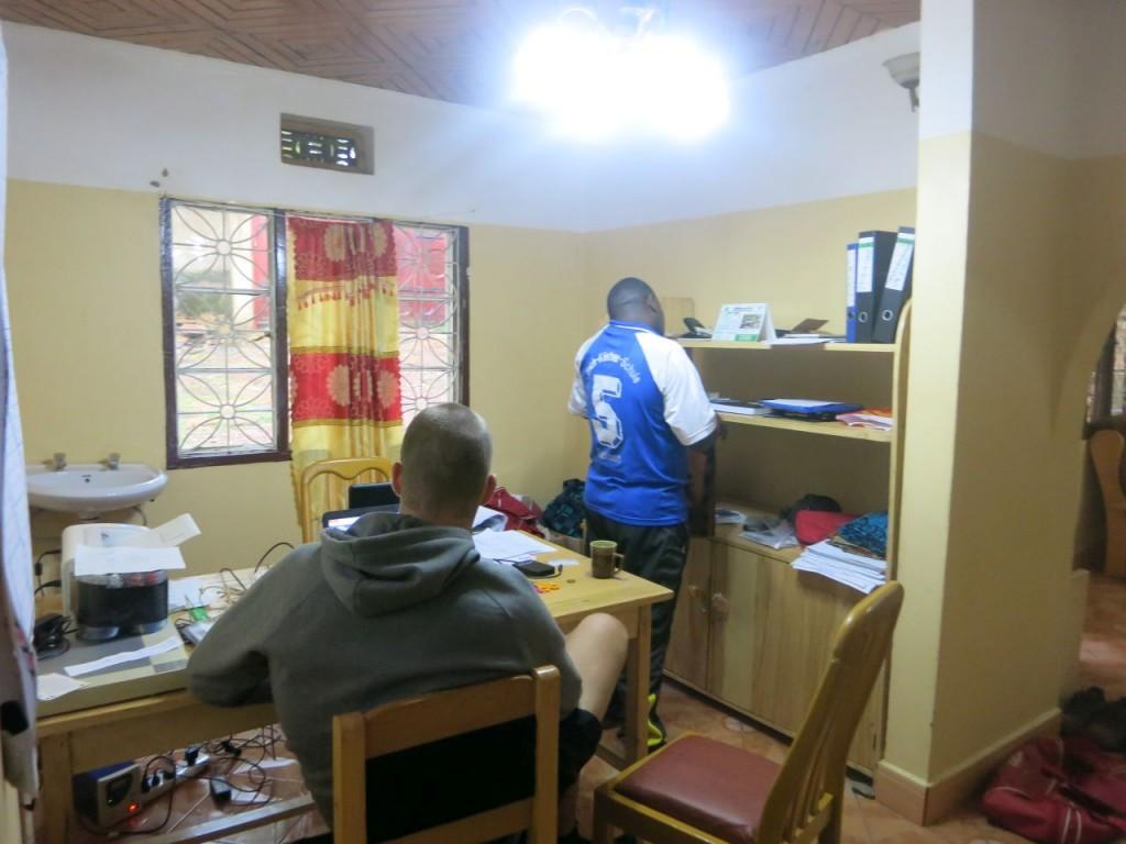 Arbeiten im Jambo Haus