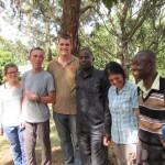 Gruppenbild an der Karalo Primary School