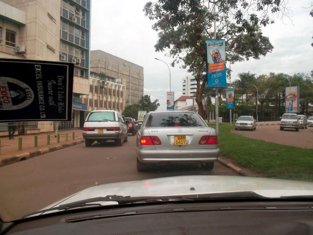 Verkehr in Kampala