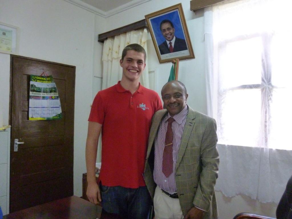 Abschied von Fabian Massawe