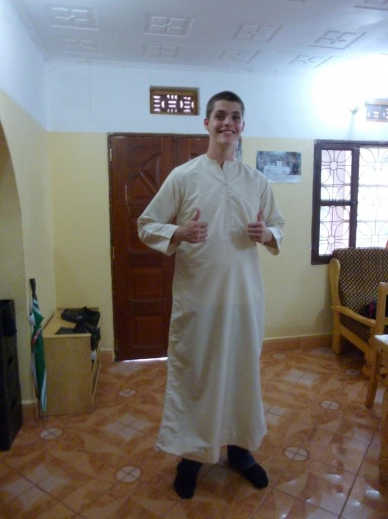 Auf gehts zur Moschee